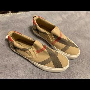 Shoes - PLAID BOYS SNEAKERS